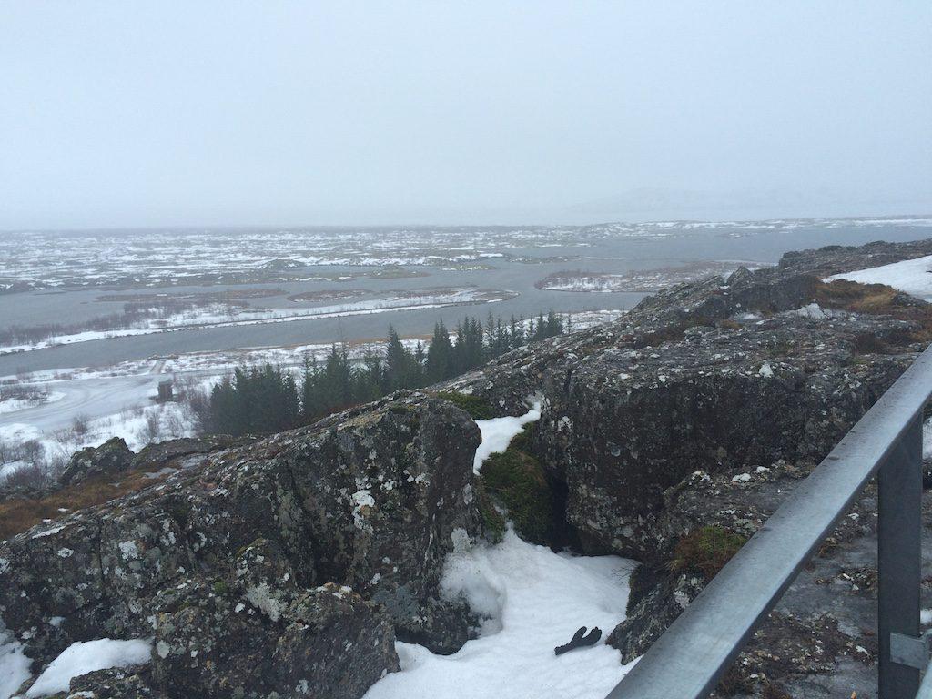 Views of Thingvellir National Park.