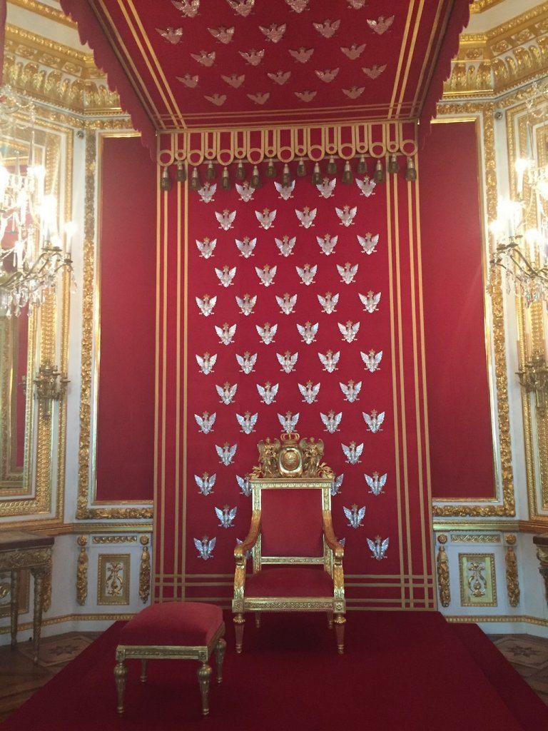 King Stanislav's throne.