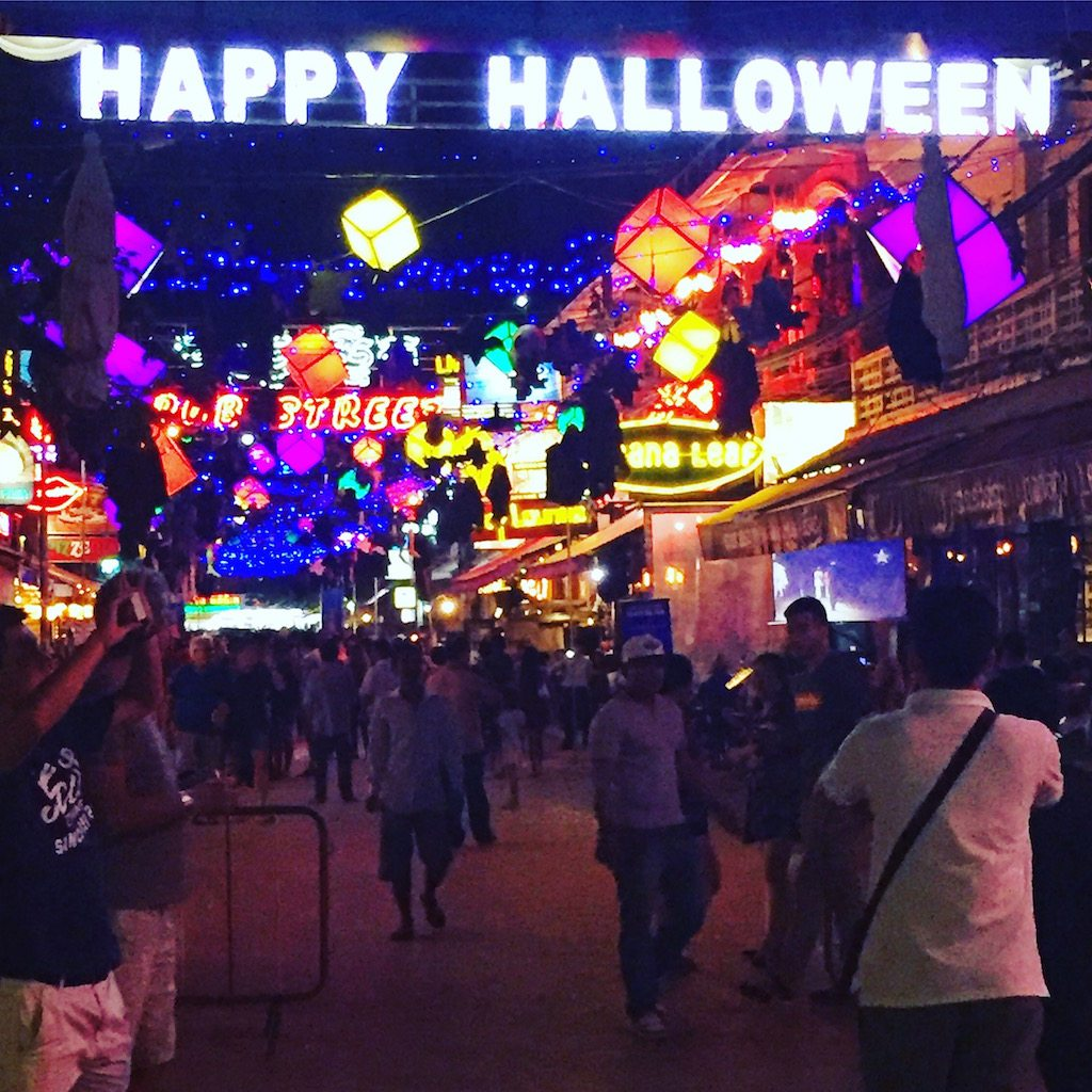 Halloween in Pub Street, Siem Reap | Ladies What Travel