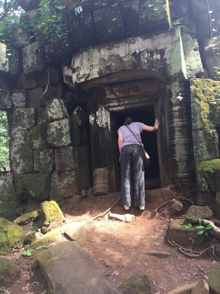 Exploring some ancient ruins near Koh Ker | Ladies What Travel
