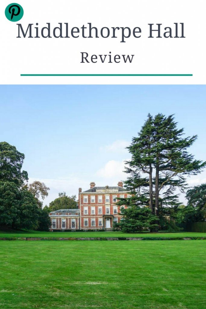 Middlethorpe Hall and Spa York review