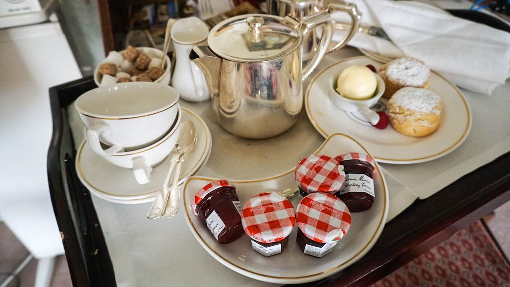 Tea tray at Middlethorpe