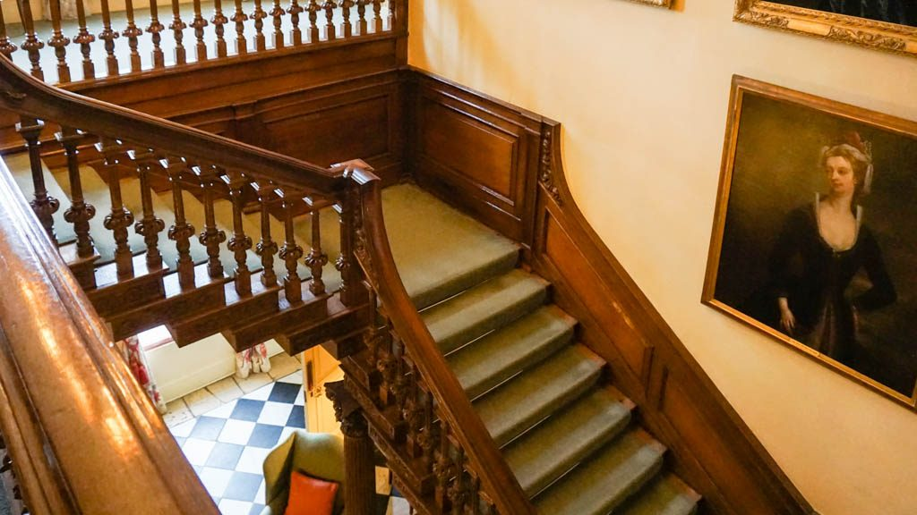 MIddlethorpe hall staircase
