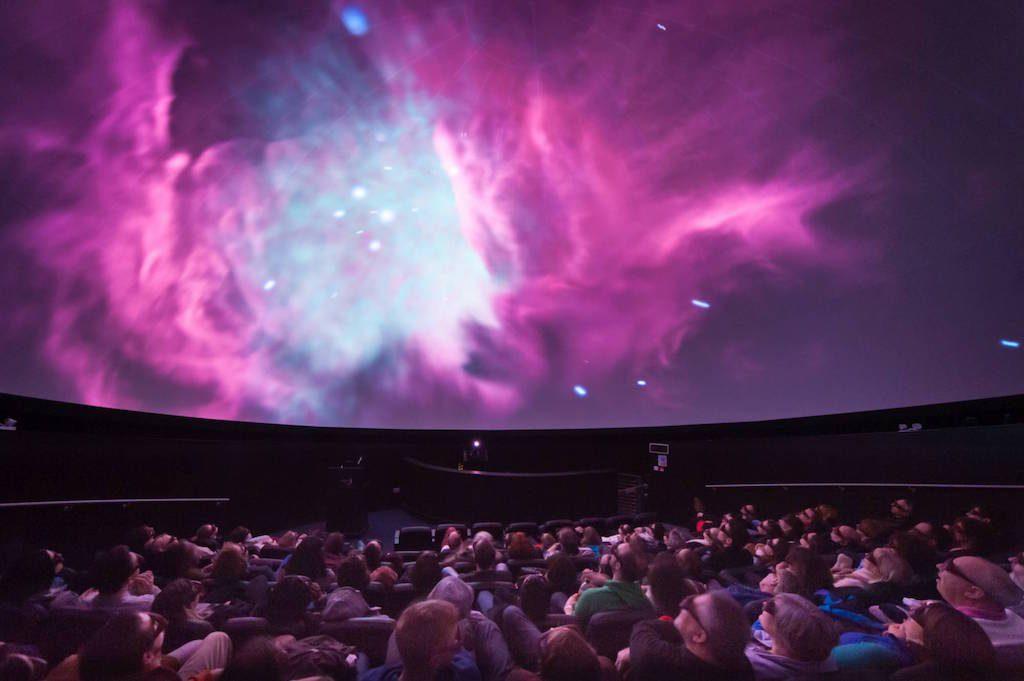 At Bristol Planetarium [image credit: Lee Pullen]