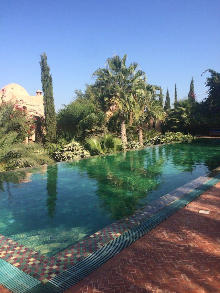 adult pool Le Jardin des Douars