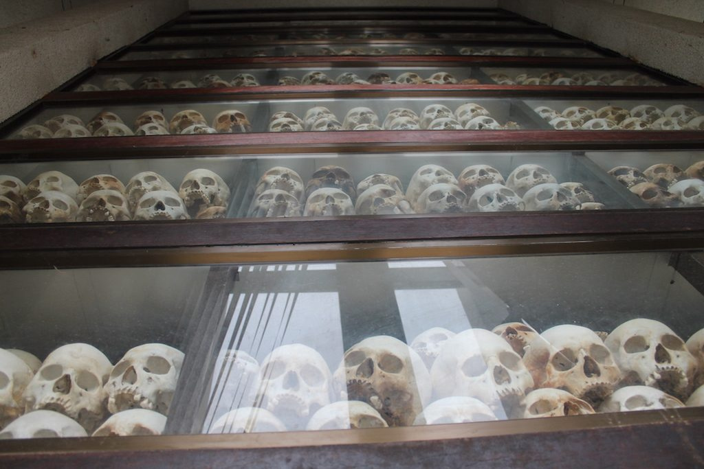 Remembering those lost: visiting S-21 and the Killing Fields