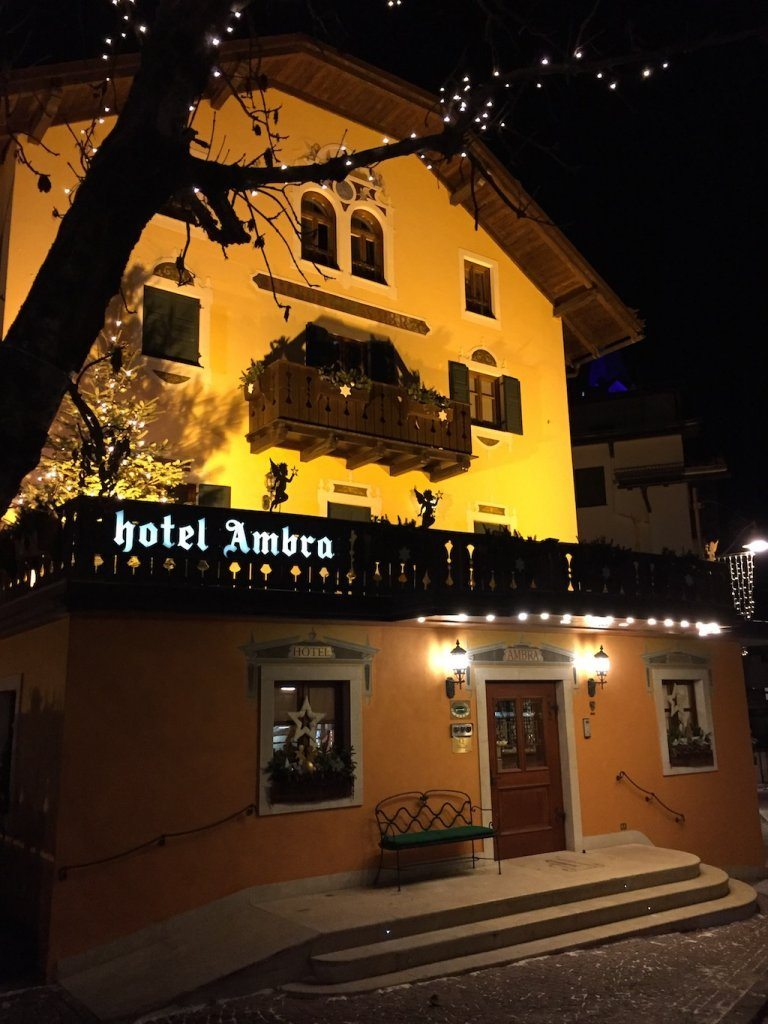 A stay at Hotel Ambra Cortina in the Southern Alps