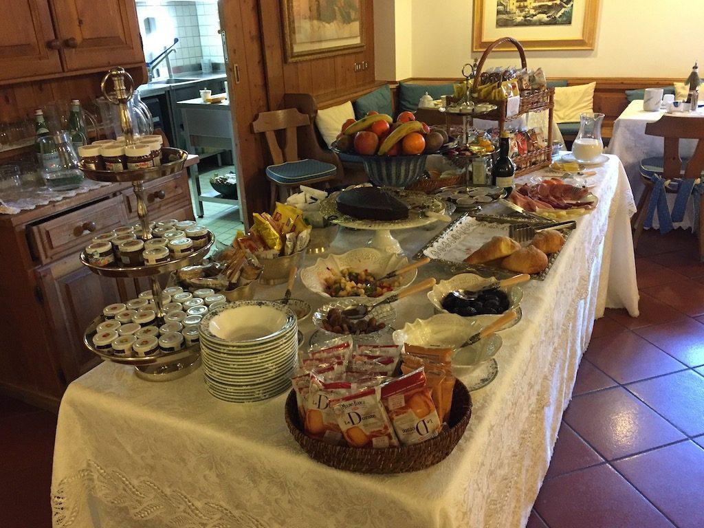 Hotel Ambra Cortina breakfast | Ladies What Travel