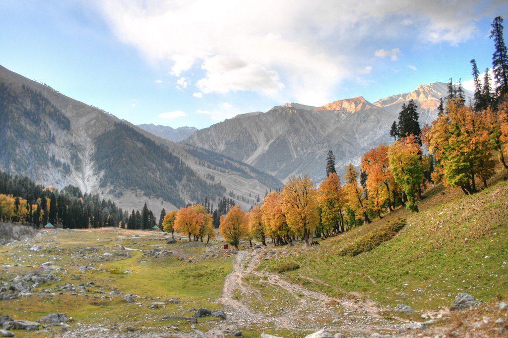 Sonamarg in Kashmir, Photo by Tony Gladvin George, CC BY 2.0