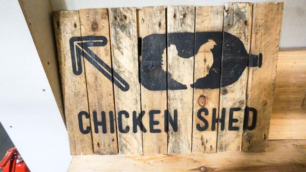 Chicken Shed Bristol