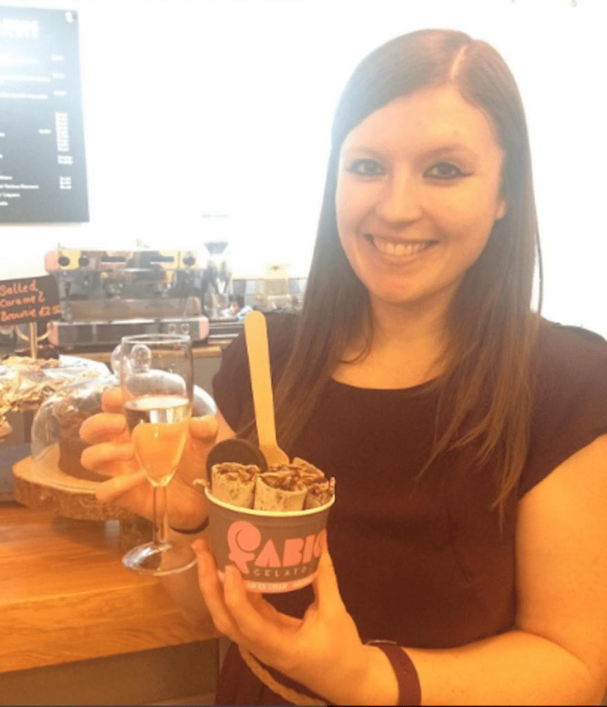 Laura at Fabios | Ladies What Travel