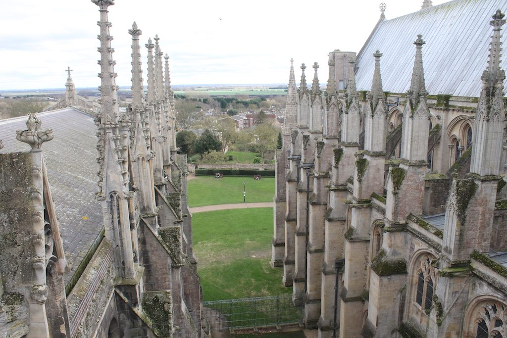 ely cathedral roof   Ladies What Travel
