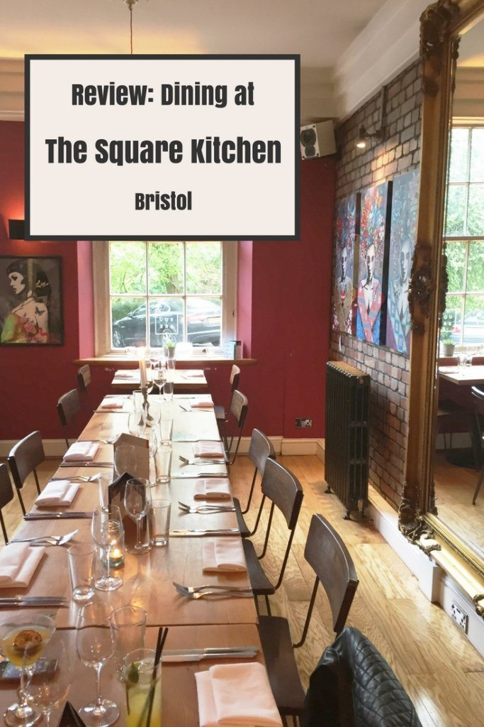 Review Dining at The Square Kitchen Bristol