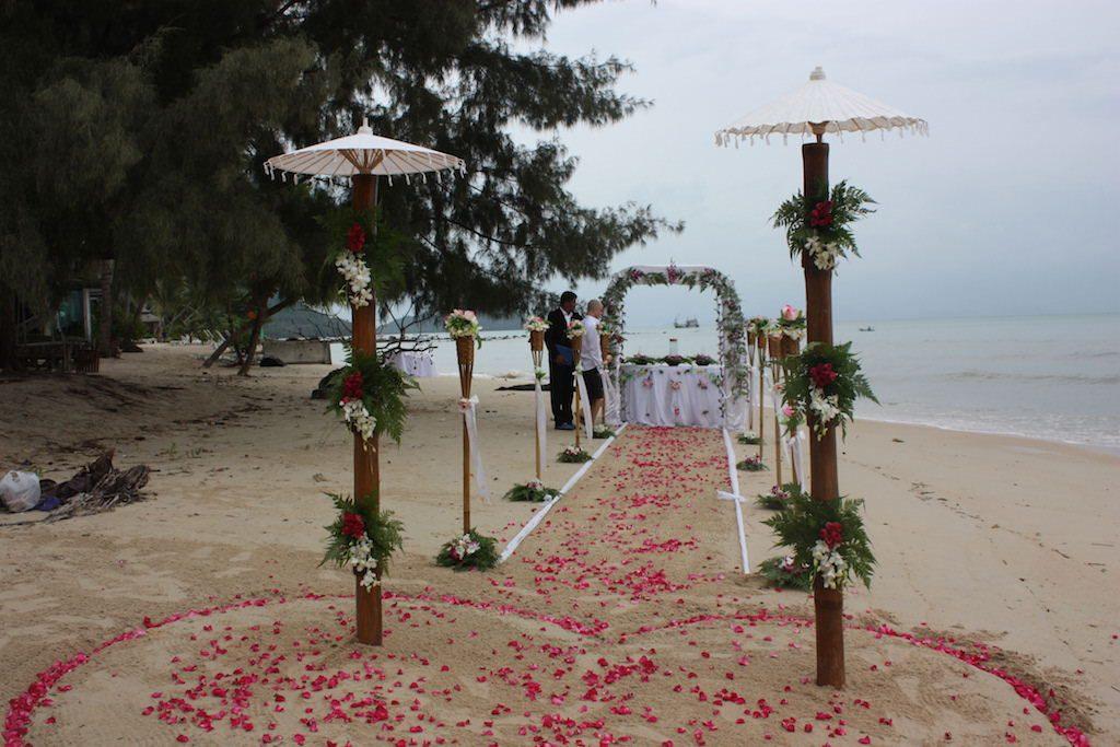 koh samui beach wedding