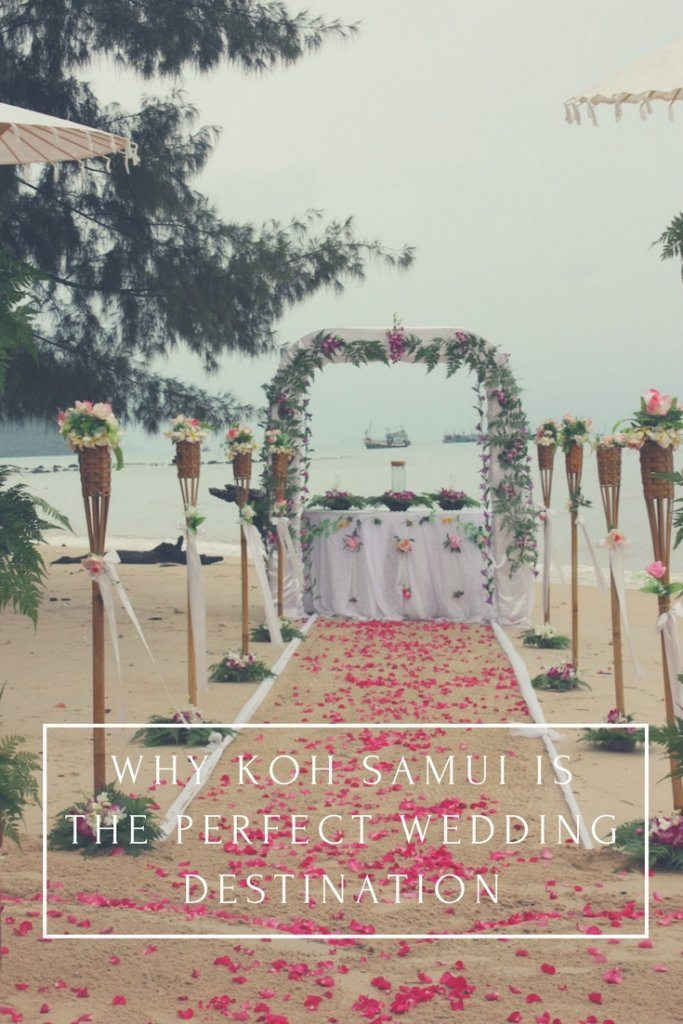 koh samui wedding pin