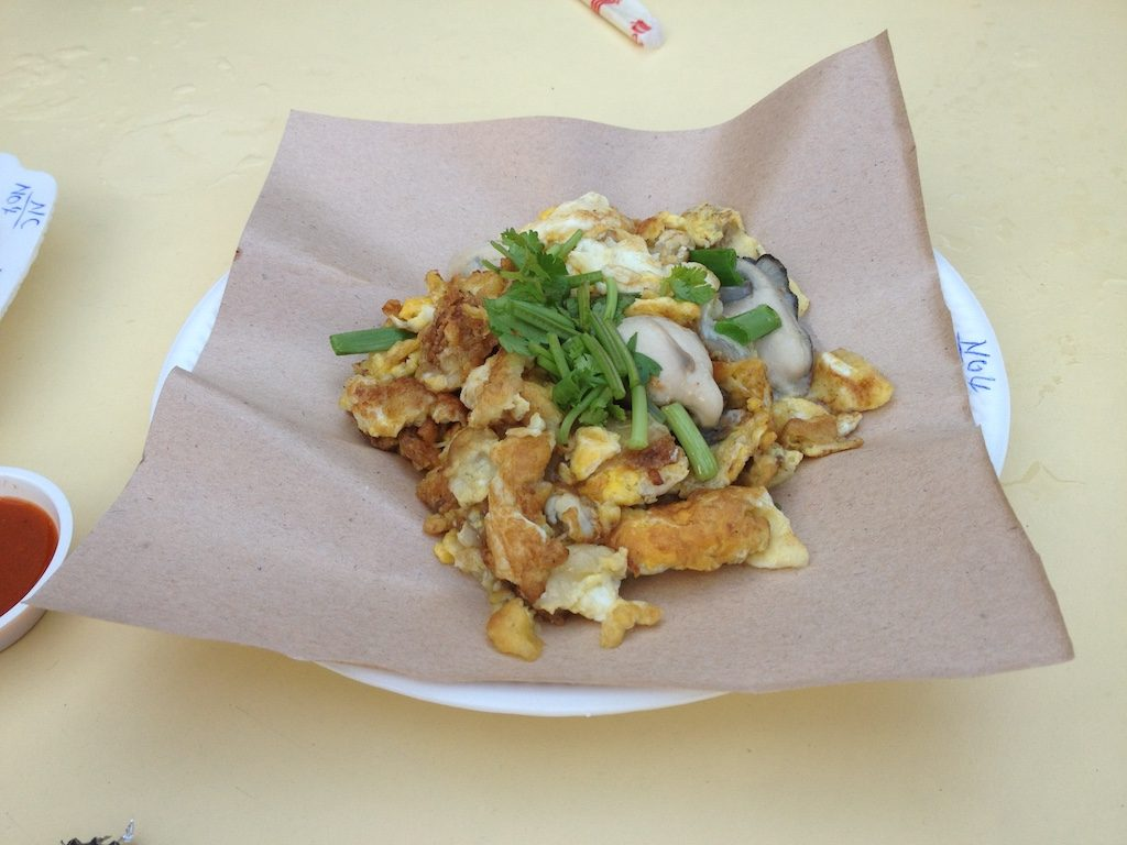 Oyster Omelette | Ladies What Travel