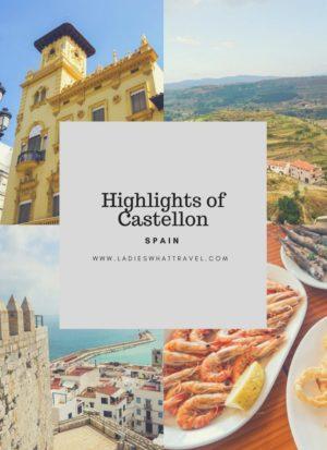 Highlights of Castellon pin