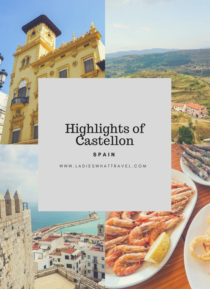 Highlights of Castellon pin