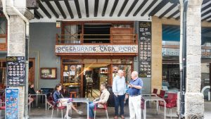 Morella arcades and shops