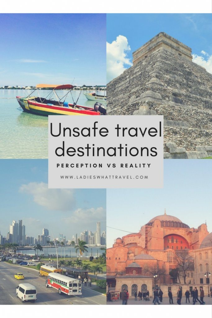 Unsafe travel destinations - Perception vs reality