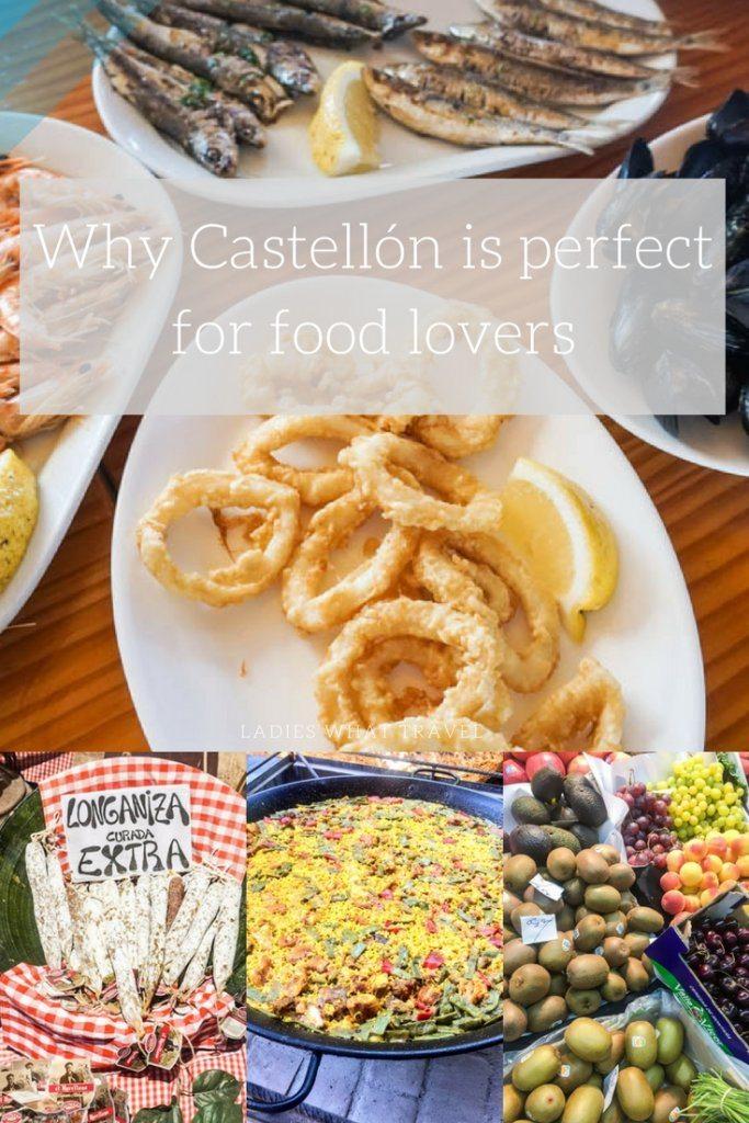 Castellon food pin