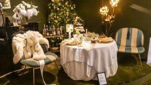 Royal Copenhagen Xmas tables