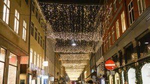 Christmas shopping in Copnehagen