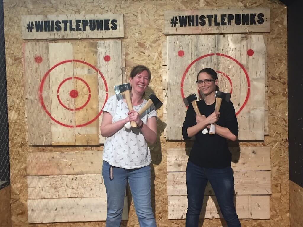 Urban Axe Throwing in Central London