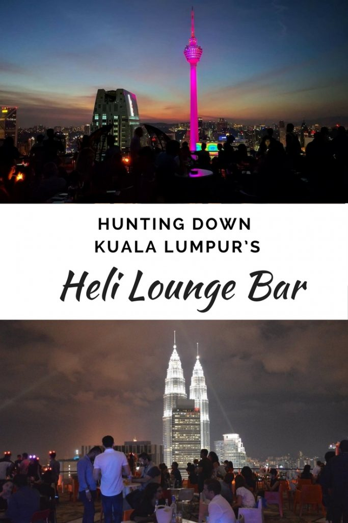 Hunting down Kuala Lumpur's Heli Lounge Bar | Las What Travel on