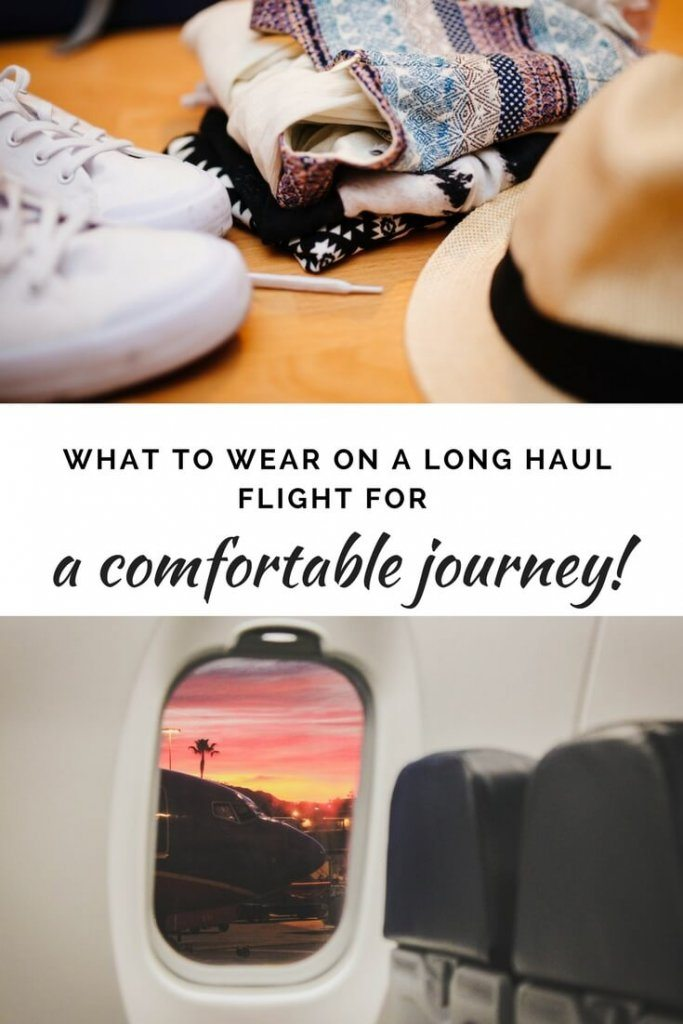 What to wear on a long haul flight for a comfortable journey