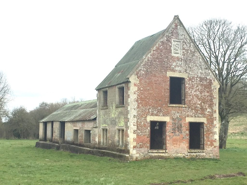 Visiting the deserted village of Imber
