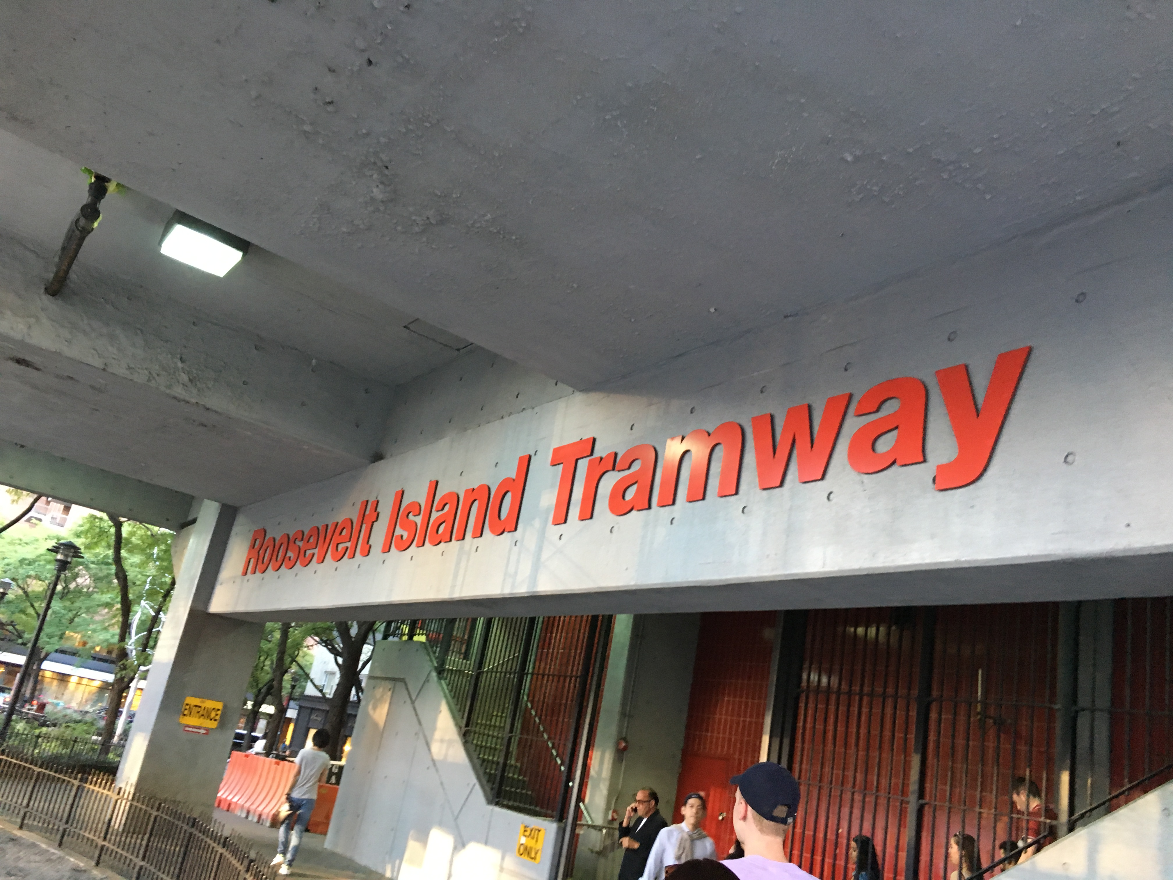Roosevelt Island Tramway stop