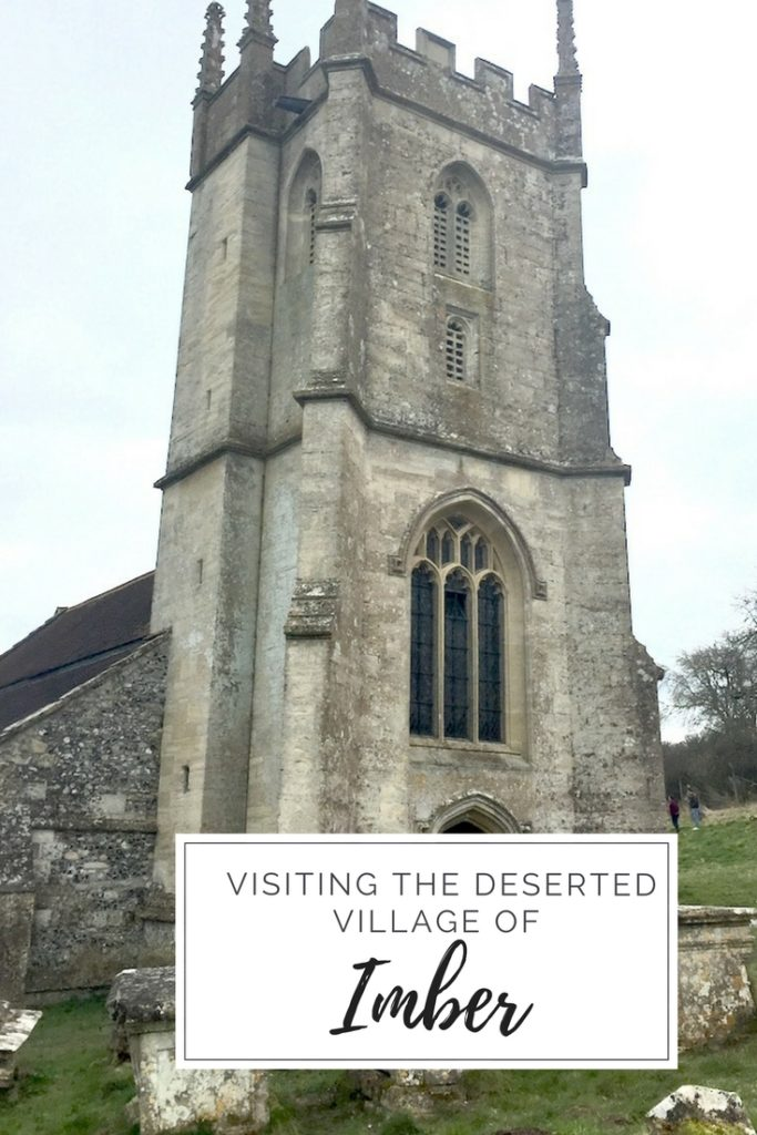 Visiting deserted Imber Village, Wiltshire