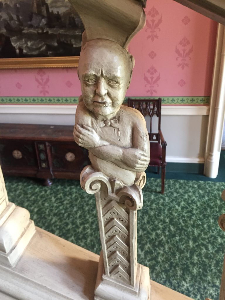 The baluster of Winston Churchill