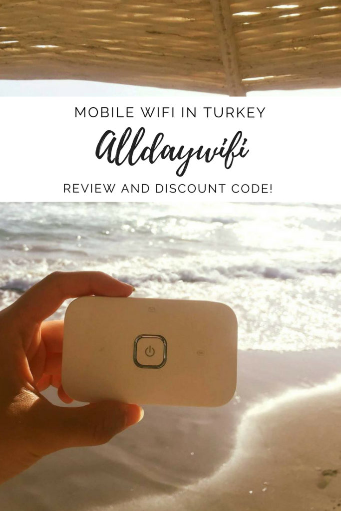 Alldaywifi review mobile wifi in Turkey