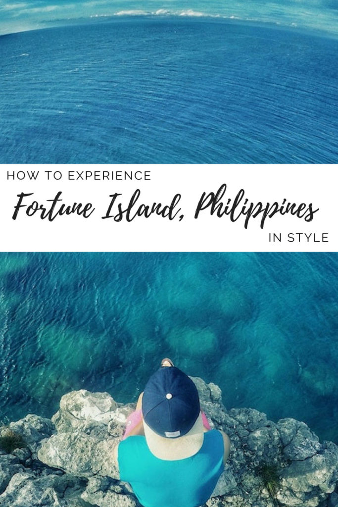 Fortune Island Philippines pin