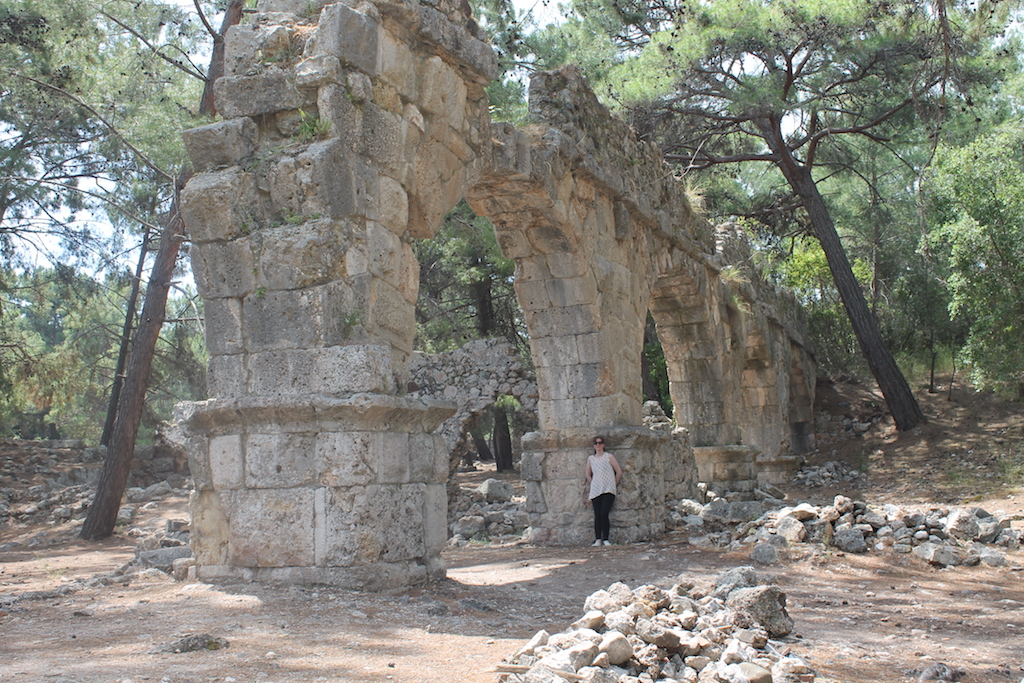 Visiting the Ancient Ruins of Phaselis, Turkey
