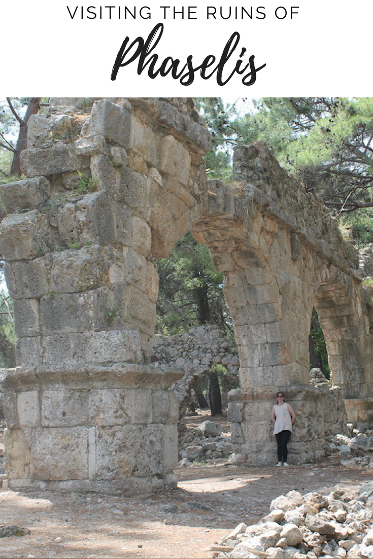 Ruins of Phaselis, Turkey | Ladies What Travel