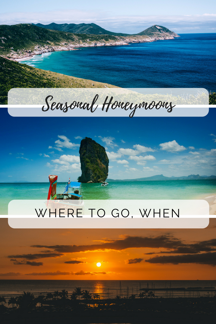 Seasonal honeymoons pin
