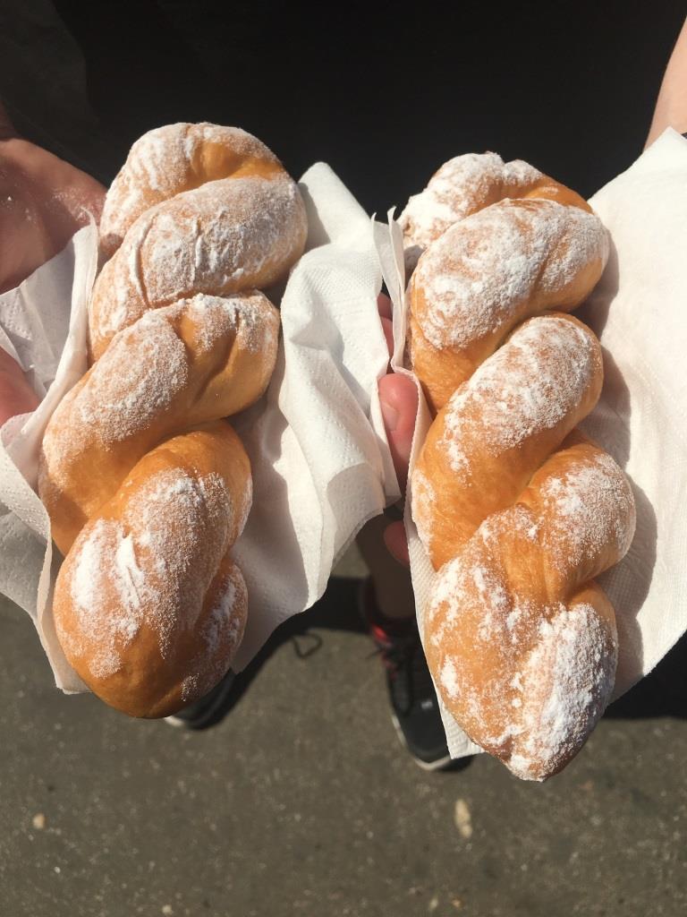 Wallachian doughnut/ Gogoși