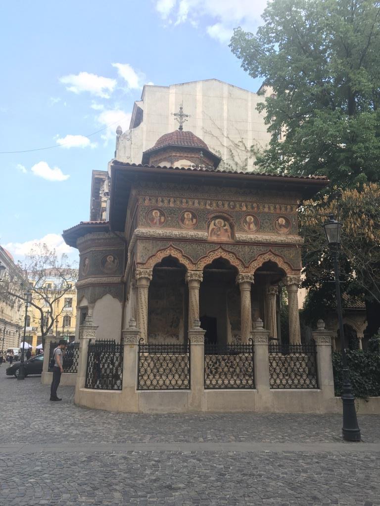Stavropoleos Church - Bucharest architecture
