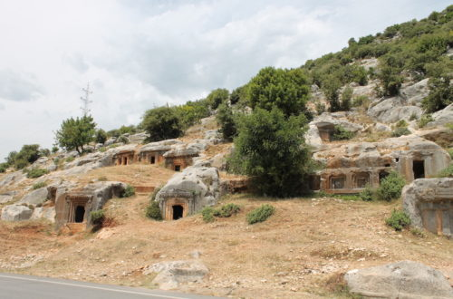 historical highlights from Turkey's Lycian Way – Myra, Limyra & St Nicholas' Church