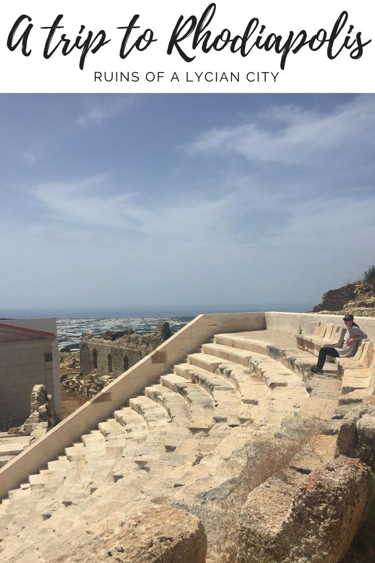 Ruins of Rhodiapolis, Turkey   Ladies What Travel