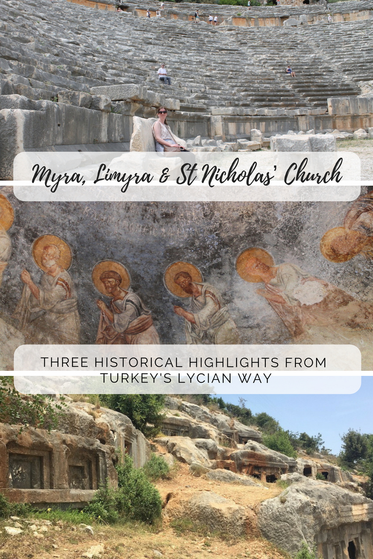 Three historical highlights from Turkey's Lycian Way
