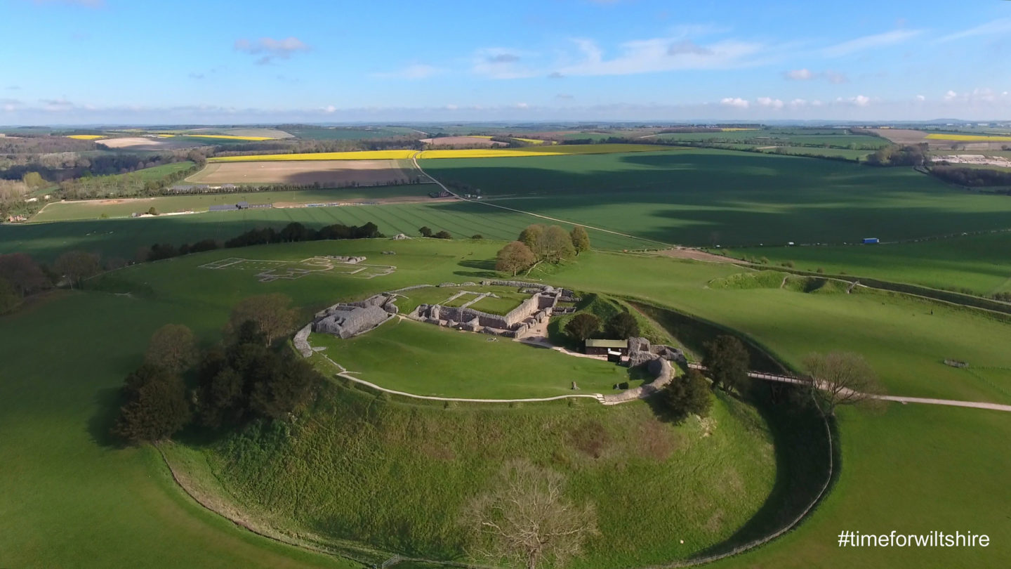 "Old Sarum, Wiltshire. Photo courtesy of <a href=""https://www.visitwiltshire.co.uk/"">Visit Wiltshire</a>."