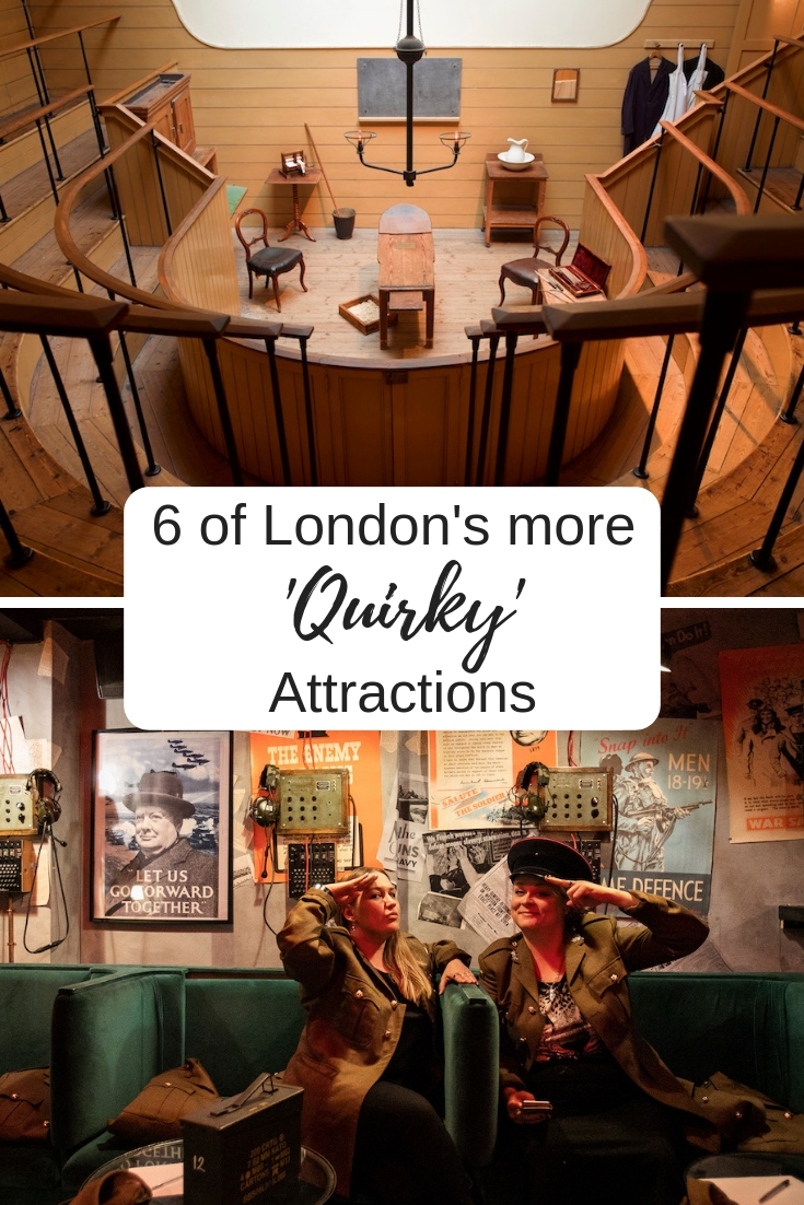 6 of London's More 'Quirky' Attractions pin