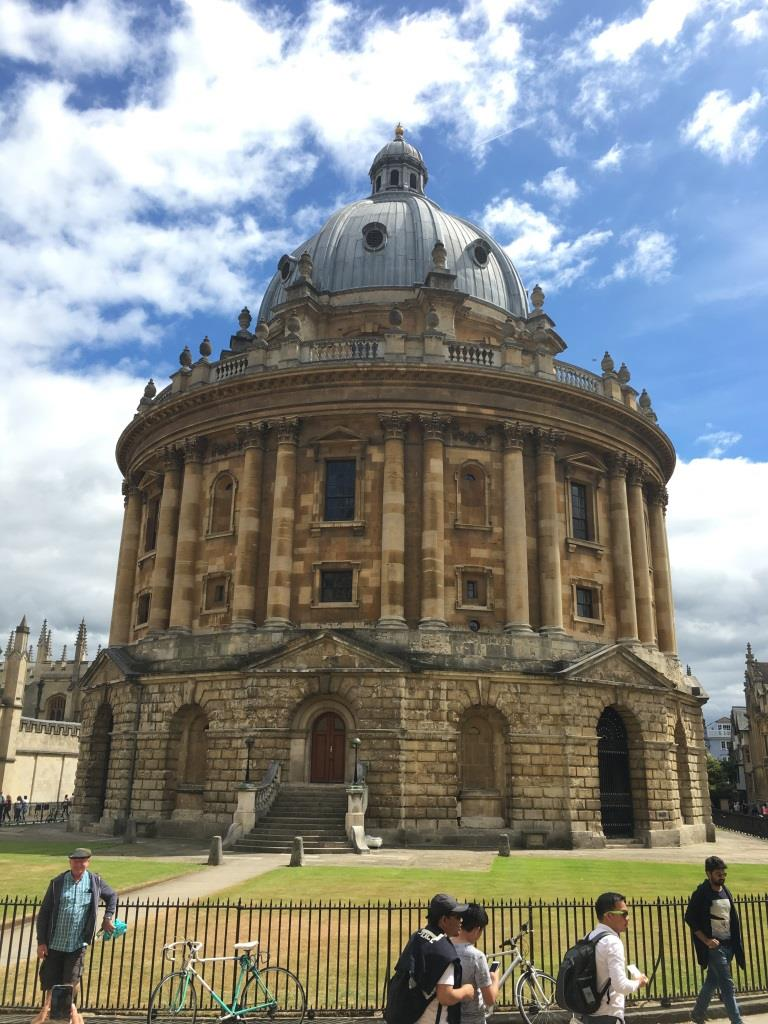 A Discovery of Witches, Oxford, Radcliffe Camera
