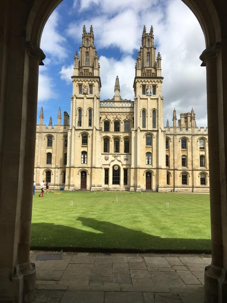 A Discovery of Witches, Oxford, All Souls College
