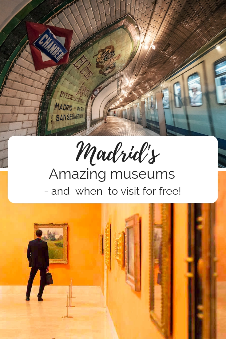 Madrid's amazing museums and when to visit for free
