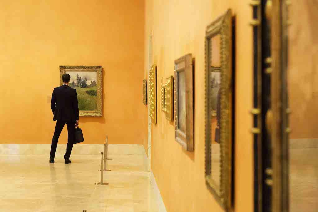Museum Madrid Thyssen-Bornemisza Mad